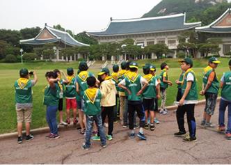 2013년 명예경찰소년단 체험활동