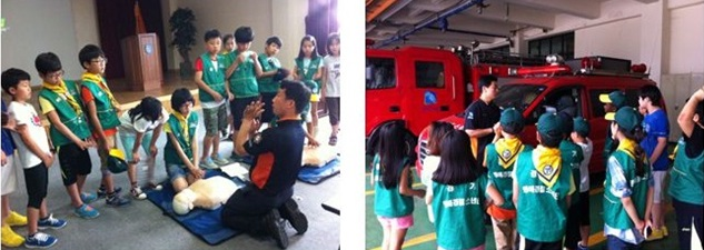 2013 명예경찰소년단 체험활동
