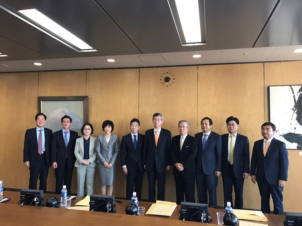 일본 공안위원회 방문