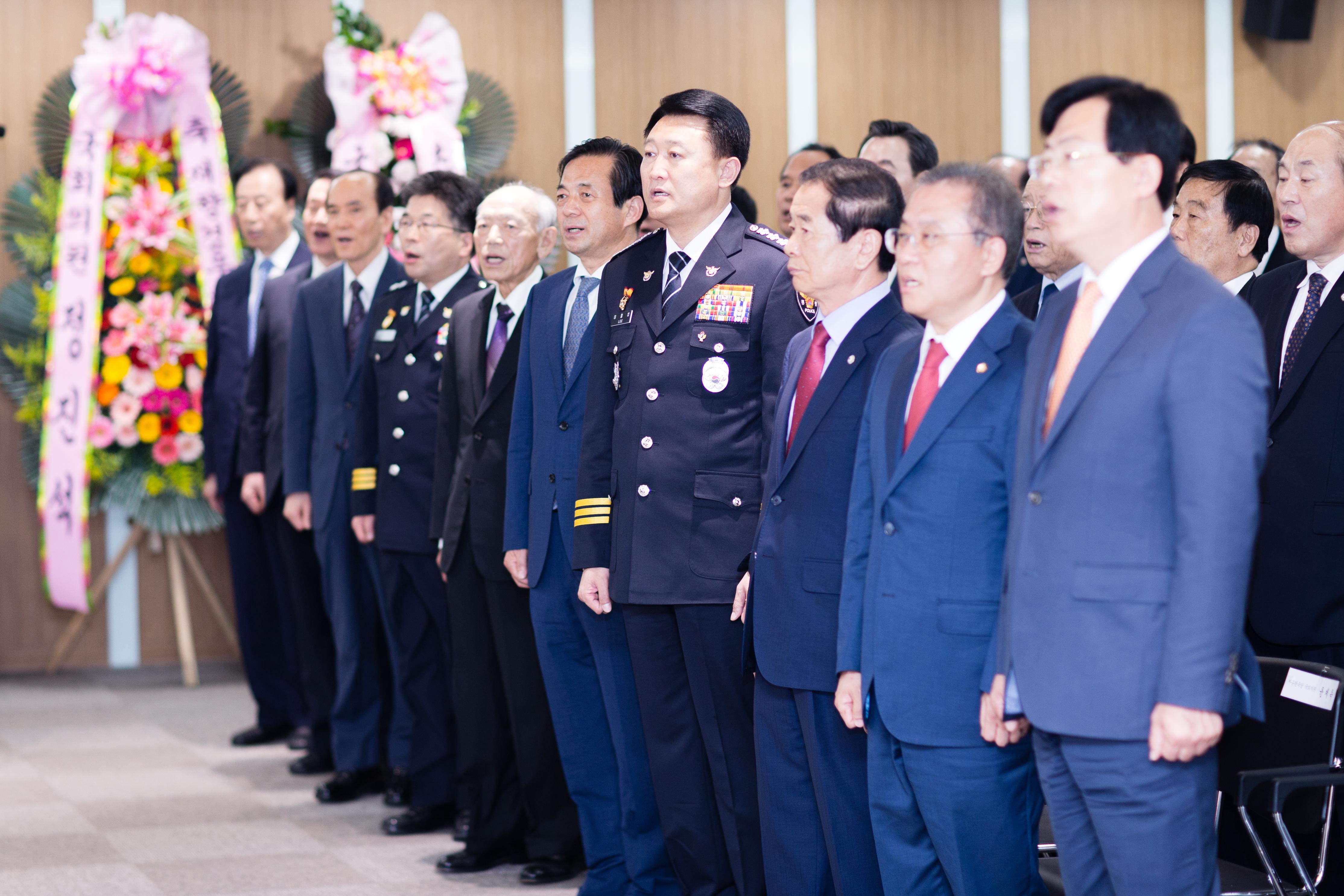 김정식 상임위원 경우회장 취임식 참석