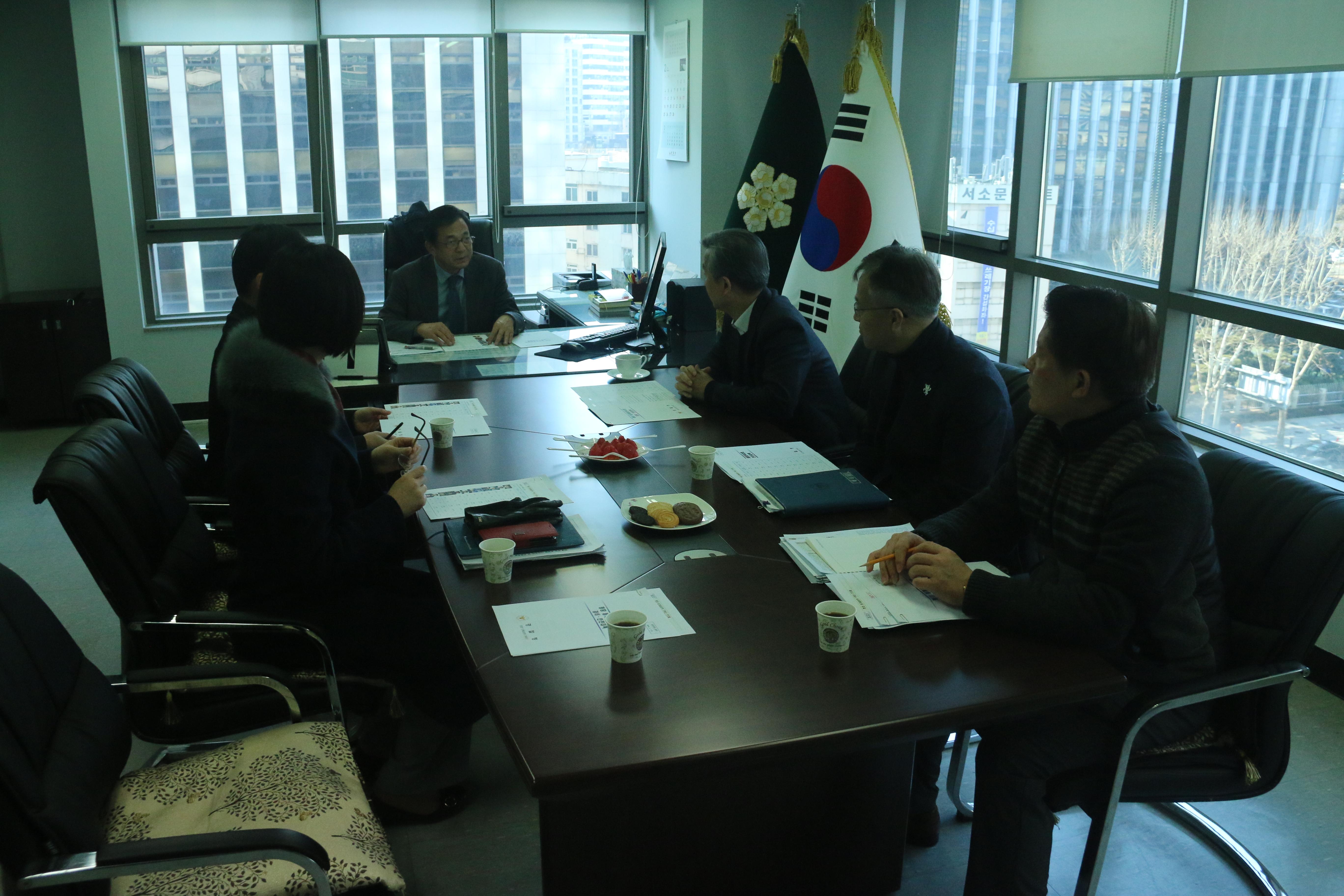 평창 동계올림픽 경찰청 기획단 현장 방문