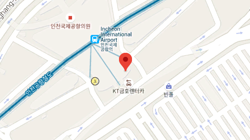 Incheon Airport Terminal 1 Center 지도 이미지